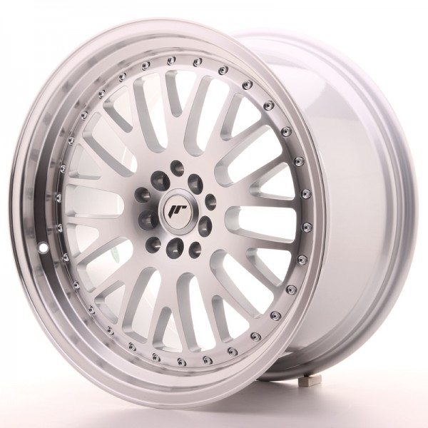 JapanRacing JR10 9,5x19 ET35 5x112/114 Silver Machined Face