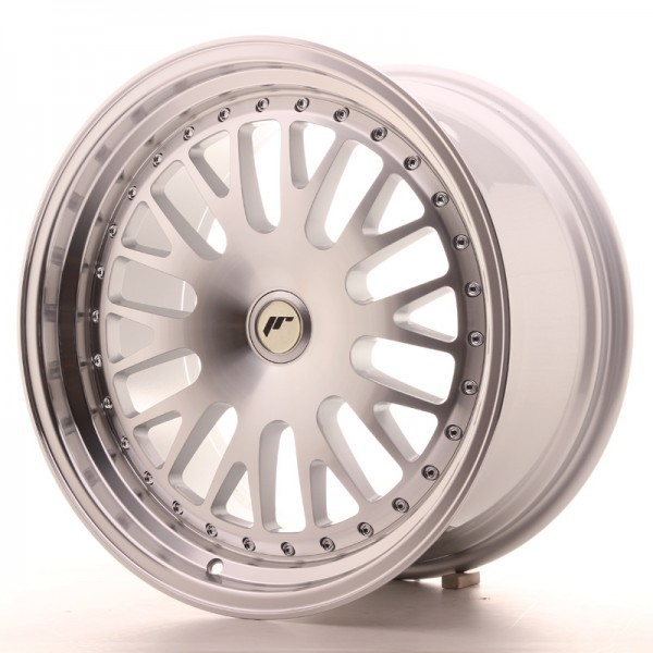 JapanRacing JR10 9,5x18 ET20-40 Blank Machined Face Silver