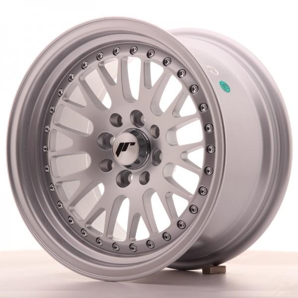 JapanRacing JR10 8x15 ET20 4x100/108 Silver