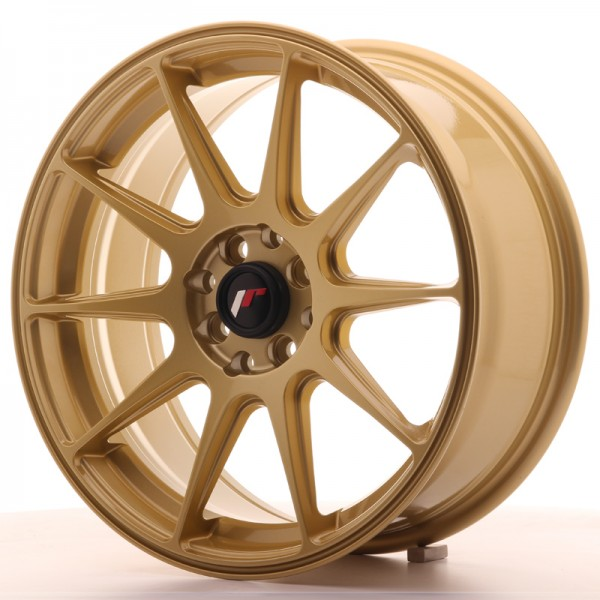 JapanRacing JR11 7,25x17 ET35 5x100/114,3 Gold