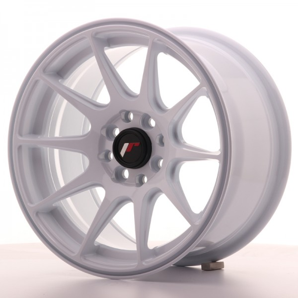 JapanRacing JR11 8x15 ET25 4x100/114 White