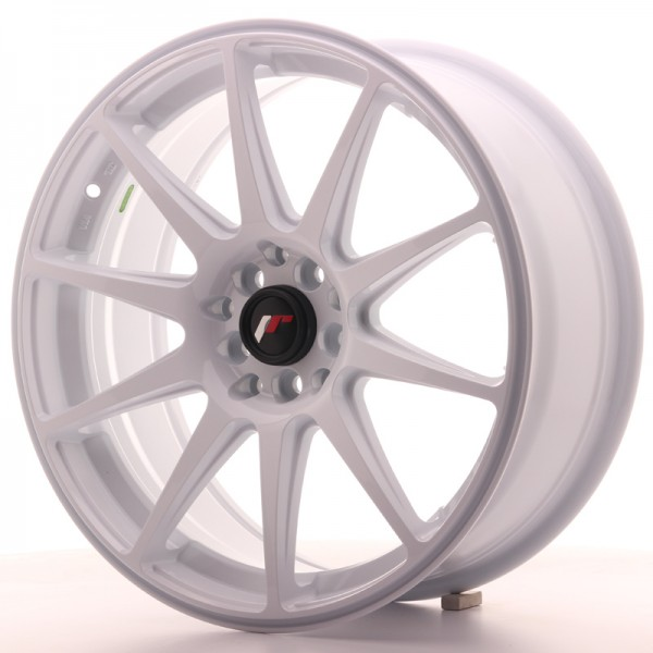 JapanRacing JR11 7,5x18 ET40 5x112/114 White