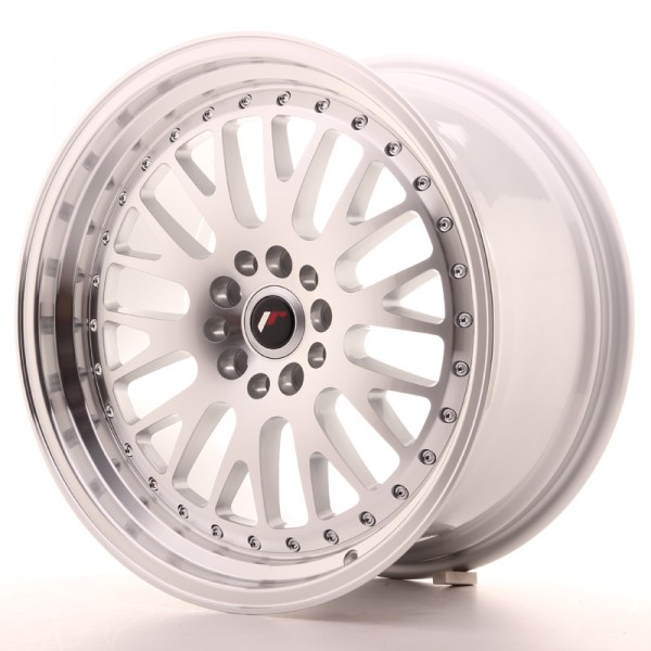 JapanRacing JR10 9,5x18 ET40 5x112/114 Machined Face Silver