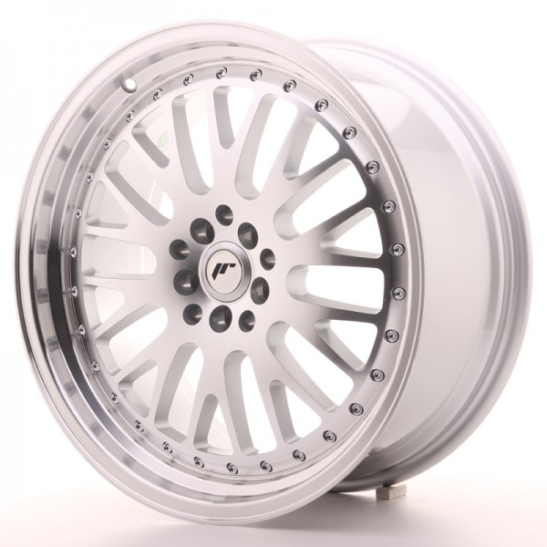 JapanRacing JR10 8,5x19 ET35 5x112/114 Machined Face Silver