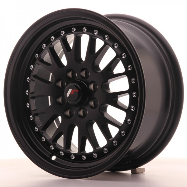 JapanRacing JR10 7x15 ET30 4x100/108 Black