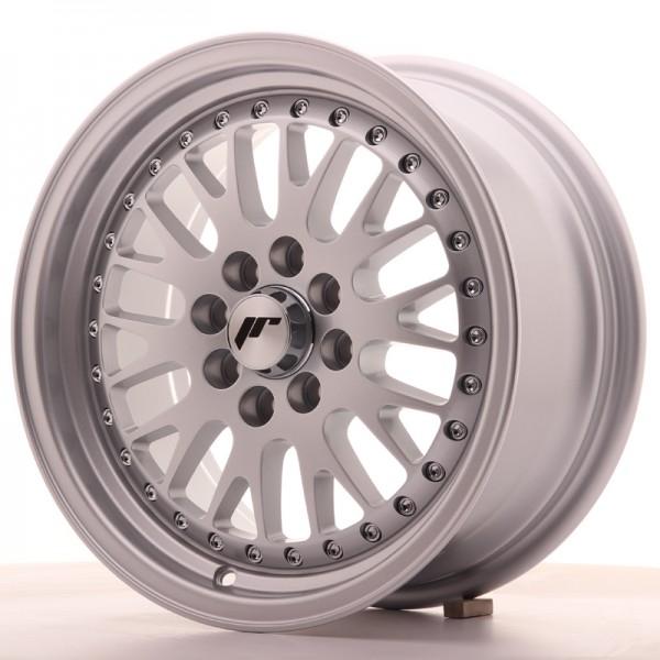 JapanRacing JR10 7x15 ET30 4x100/108 Silver