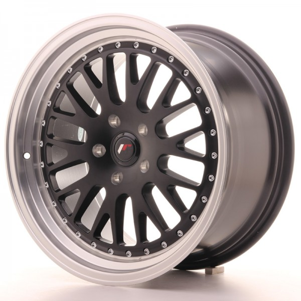 JapanRacing JR10 9,5x18 ET40 Blank Black