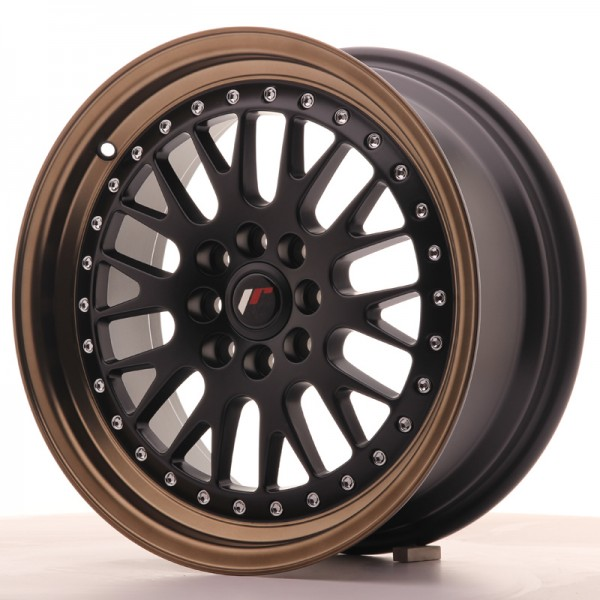 JapanRacing JR10 7x16 ET30 4x100/108 Black