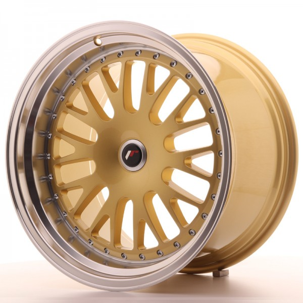 JapanRacing JR10 11x19 ET15-30 Blank Gold