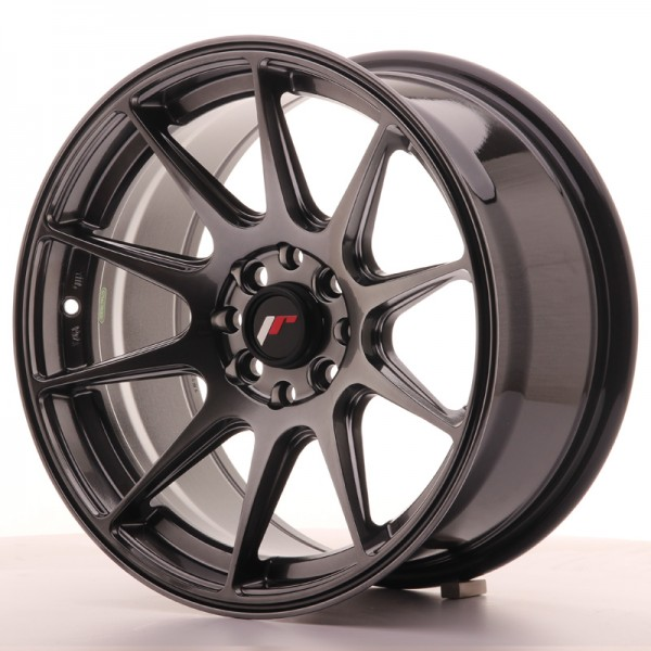 JapanRacing JR11 8x16 ET25 4x100/114 Hiper Black