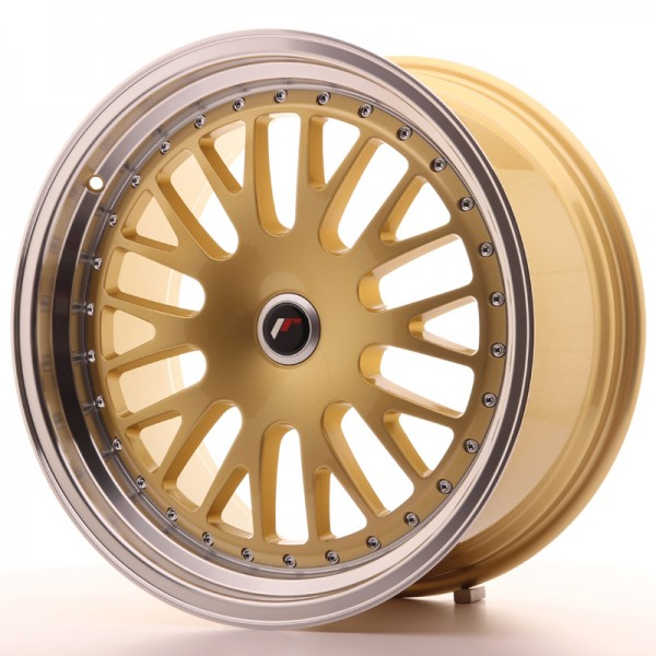 JapanRacing JR10 9,5x19 ET20-35 Blank Gold