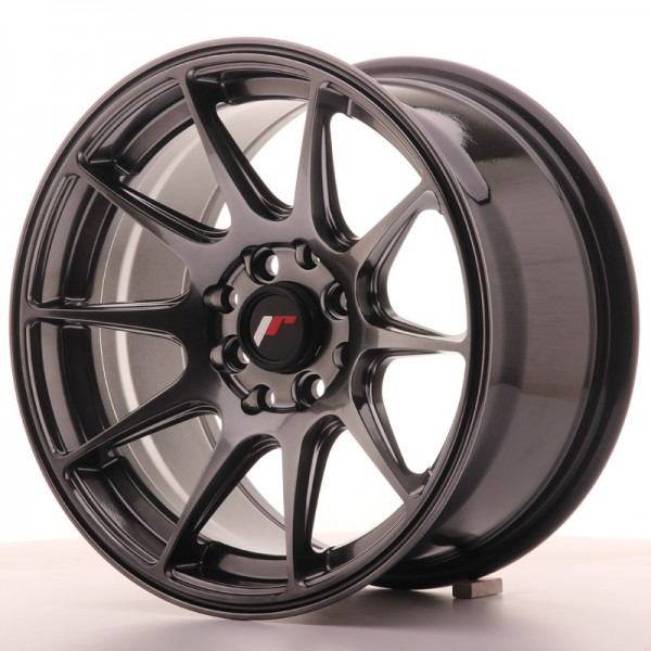 JapanRacing JR11 8x15 ET25 4x100/108 Hiper Black