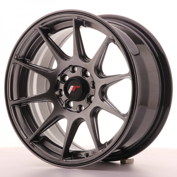 JapanRacing JR11 7x15 ET30 4x100/108 Hiper Black