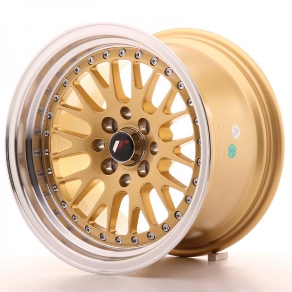 JapanRacing JR10 9x15 ET10 4x100/114 Gold