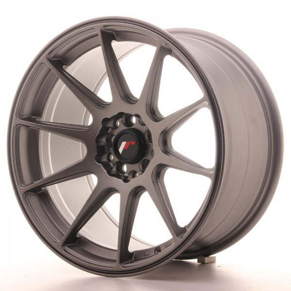 JapanRacing JR11 9x17 ET35 5x100/114 Gun metal